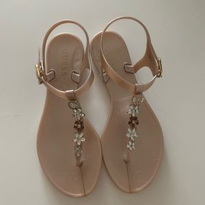 GUESS jelly sandals